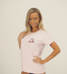 Women's T Shirt | Pink | Key Largo Louie.jpg